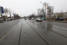 Bulevardul Aerogarii dupa finalizarea lucrarilor de reabilitare