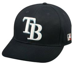 "Tampa Bay Rays ADULT Adjustable Hat MLB Officially Licensed Major League Baseball Replica Ball Cap by Team MLB. $9.48. Embroidered ""TB"" Authentic Rampa Bay Rays Major League Baseball Logo. NEW CF2 Visor Shaped to Flat or Curved Brim With NEW Black Anti-Glare Undervisor. Official MLB Cap for Youth & Adult Baseball/Softball Leagues. Tampa Bay Rays Cap Official Major League Baseball Replica Hat. Adult Size (6 7/8 - 7 1/2"") Ages 12 & Up, Adjustable Velcro Fit. MLB Offici..."