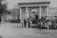 Antiguo Arsenal de la Marina en la Puntilla, San Juan, Puerto Rico. (1898-1917)