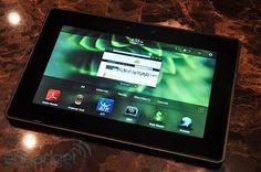 My Blackberry #Playbook.