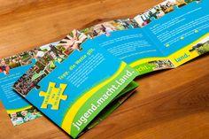 Flyer für den Bund der Deutschen Landjugend