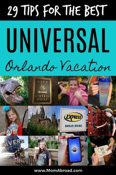 Planning a trip to Universal Orlando Resort? Here are our 29 Universal Orlando tips and insider tricks help you avoid crowds, save money and make the absolute most of your Universal Studios, Islands of Adventure and Volcano Bay vacation. Orlando Travel, Orlando Vacation, Family Vacation Destinations, Florida Vacation, Florida Travel, Family Vacations, Travel Destinations, Cruise Vacation, Florida Food