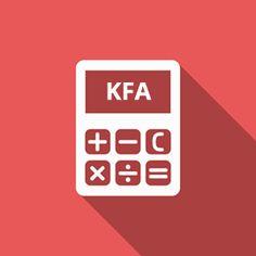 Mit dem Rechner kannst du deinen Körperfettanteil (KFA) berechnen. Dein KFA ist der prozentuale Anteil von Fett bezogen auf dein gesamtes Körpergewicht. Hat ein 100 kg schwerer Mensch einen KFA von 15%, dann beträgt seine Fettmasse 15 kg. Mehr... weiterlesen