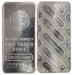 Engelhard 10 Oz Silver Bar  $239.20