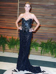 Heidi Klum (If It's Hip, It's Here: The 30 Most Stunning 2014 Oscar After Party Dresses And The 10 Ugliest.)