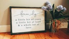 14x20 frame is not included Family Definition, Family Signs, Frame, D Day, Thinking About You, Picture Frame, Frames
