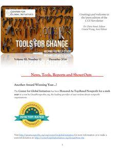 2016 December Tools for Change CGI Newsletter