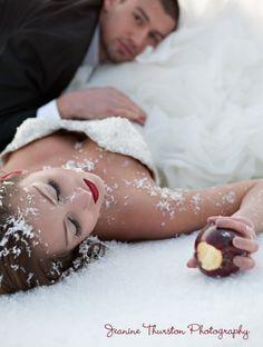 A Snow White wedding