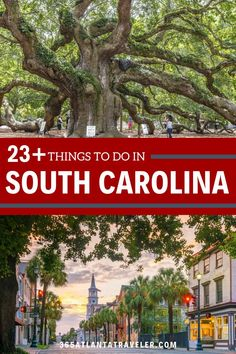 The Palmetto State is the perfect US travel destination for a weekend getaway. South Carolina is filled with amazing things to do, so it was quite the task to narrow it down to just the best of the best — but we think we've done it! Looking for family-friendly activities, outdoor adventures, amazing cities, beach vacations, or historical sites? We've got them. Here are 23+ of the best things to do in South Carolina for an amazing time.
