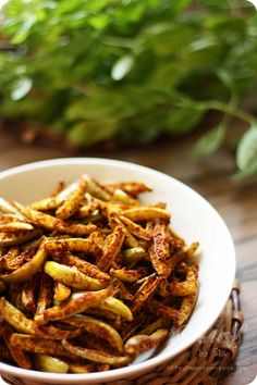 Tindora/Ivy Gourd Roast | Roasted Tindora/Ivy Gourd Recipe (How to make Spicy