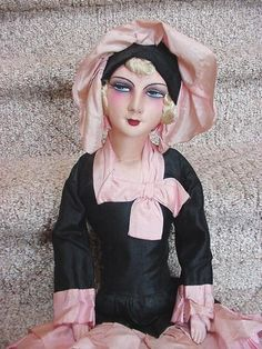 I totally adore boudoir dolls.I bought one to fix up. Would like to have one that I do not need too. This is a vintage French boudoir doll.