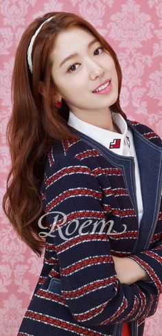 Park Shin Hye is the latest spokesmodel for the Korean-Chinese collaboration brand, Roem.