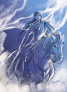 Fingolfin. Silmarillion. by K. Mendow