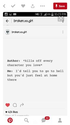 when authors kill off your favorite character