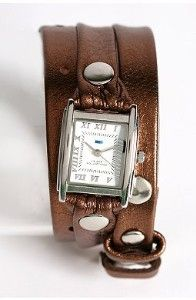 Wrap Watches (pref. brown leather type)