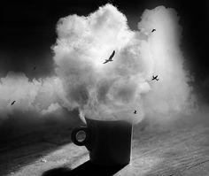 Clouds in my coffee by ☁ NoelleBuske☁ ✈, via Flickr