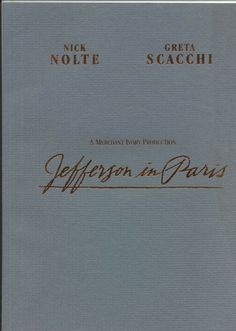 Jefferson In Paris Promo Souvenir US 1995 Film Brochure Cinema Movie AMERICA #Jefferson In #Paris #Promo #Souvenir #US 1995 #Film #Brochure #Cinema #Movie #AMERICA Cinema Movies, Film, Paris, Souvenir, Movie, Films, Montmartre Paris, Film Stock, Paris France