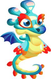 Seahorse Dragon    Dragon City