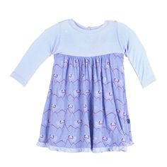 cca6d7cd8 Kickee Pants Print Swing Dress Forget Me Not Mountain Goat ***Pre-sale***. Casp  Baby Mommy & Me Boutique