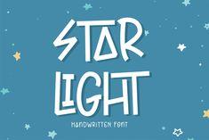 Star Light (Font) by Sigit Dwipa · Creative Fabrica Script Logo, Handwritten Fonts, All Fonts, Light Font, Creative Fonts, Modern Fonts, Photo Black, Premium Fonts, School Design