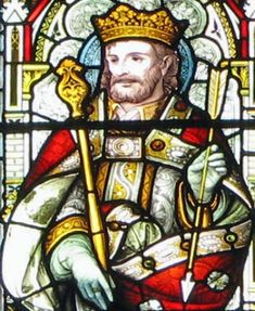 Saint Edmund of East Anglia pray for us and torture victims and against plagues.  Feast day November 20.