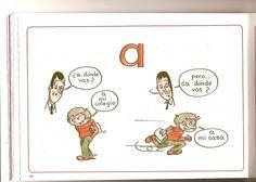 """Las reglas del uso de la preposición """"a""""...sería bueno discutir durante el cuento """"Camina o corre"""" www.martinabex.com"""
