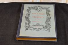 Strong Water of Acque-Forti Dei Tiepolo Vintage Italian Illustration Plate Book