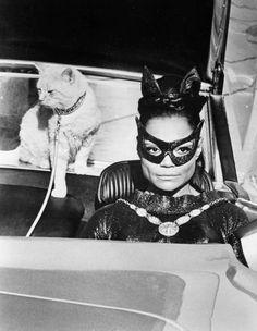Eartha Kitt as Catwoman in Batman 1967.