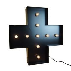 ***Cross lights will be dispatched End April/Early May Love Struck Homewares presents their new product Letter Lights. Letter Lights are available in white, black & rusted steel.   Lights are 60cm high with a varying width.  The white and black letters have been powder coated to create a flawless surface finish. The rusted steel has been treated to create a vintage worn look.  All lights are supplied with a set of LED 0.5 watt bulbs to keep energy consumption low. Love Struck letter ...
