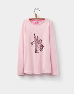 7811904d69 Joules Ava Older Girls Applique Top 3-12yr Joules Usa