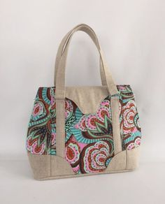 Swoon Patterns ~ My New Harriet Expandable Tote ~