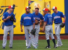 Major League Baseball Player Home Run   ... Major League Baseball All-Star Game Home Run Derby in New York, July