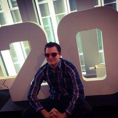 "@exciteray's photo: ""Goodbye 20's hello .... #thisisnhow #birthday #sunglasses #therotterdam #nhow"""