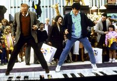 """CHECKED OFF: Dance on a giant piano like the one from """"Big""""  at FAO Schwartz!"""
