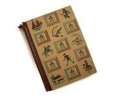 Vintage Book Little Men 1940 Louisa May by MerrilyVerilyVintage, $11.00