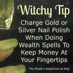 Help with a money spell