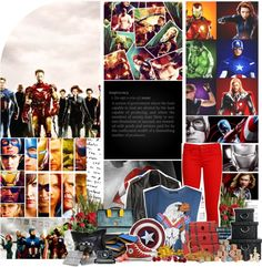 """""""[Avengers Assemble Challenge] 1. Avengers"""" by twi-hard4ever18 ❤ liked on Polyvore"""