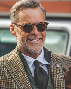 """Re-stock on one of our all time favorites - the lapel amber tortoise with tobacco lenses from…"" Look Formal, Cute Teen Outfits, Mature Men, Suit And Tie, Well Dressed Men, Gentleman Style, Mens Clothing Styles, Stylish Men, Men Dress"
