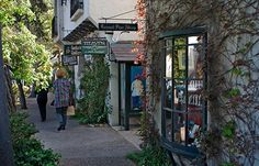 Shops in Carmel, CA.  One of the most beautiful places I've ever been.  Would love to go back!