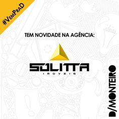 A Sólitta Imóveis agora é cliente #DMONTEIRO! #Welcome #BemVindos