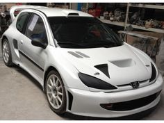 PEUGEOT 206 WRC supercar Year 2004 Remade in 2014, Engine 206 wrc oreca racing, sequential locking Transmission and nine bridges, 4 3-way Da...