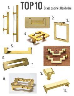 My top 10 Brass hardware picks