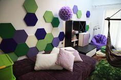 Zdjęcie z realizacji. Panele Hexa w prywatnym mieszkaniu. (3)