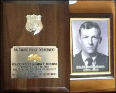 """Forty years ago this weekend, Baltimore City Police Officer Norman """"Fred"""" Buchman was killed in the line of duty. His sister tells WBAL News that the pain of that day is still fresh, 40 years later."""