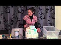 Gâteau de couches, Cadeau naissance ou anniversaire - YouTube