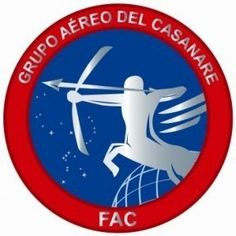 Escudo del Grupo Aéreo del Casanare (GACAS) en Yopal...