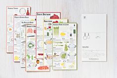 Post Card Recipes - Casa Morimi by Stefano Citi, via Behance