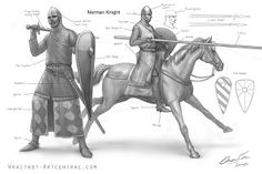 This is a good example of Norman armor