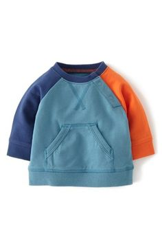 Mini Boden 'Hotchpotch' Sweatshirt (Baby Boys) available at Toddler Boy Fashion, Little Boy Fashion, Kids Fashion, Little Boy Outfits, Baby Boy Outfits, Baby Shirts, Boys T Shirts, Boys Sweaters, Bleu Marine
