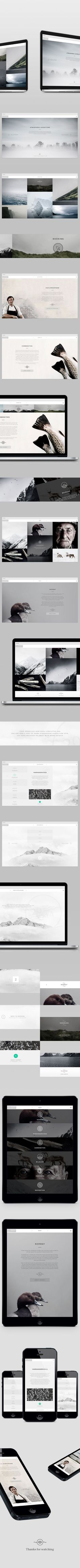 Noma Atmosphere is a concept behind a new gastronomic travel site developed for the worlds' best restaurant Noma located in Copenhagen, Denmark. Noma is known for its reinvention and interpretation of the Nordic Cuisine. In the restaurant they create an e…:
